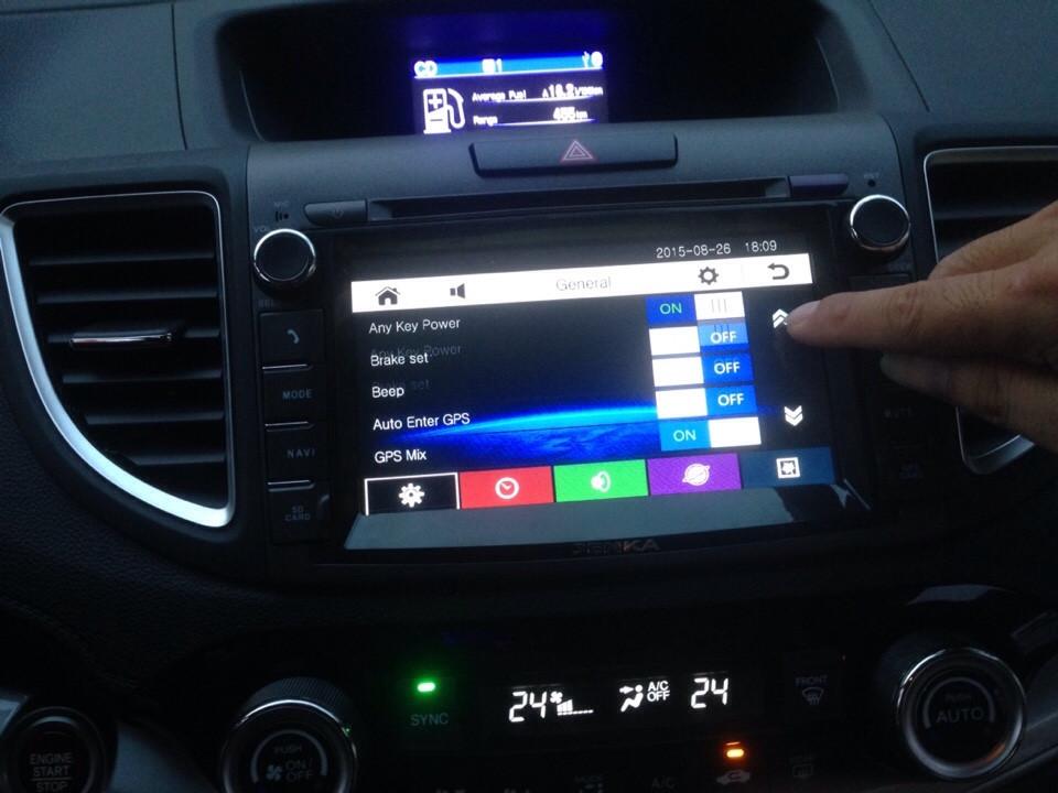Màn hình DVD theo xe Honda CRV
