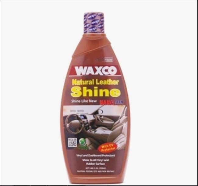 Kem dưỡng ghế da ô tô Waxco