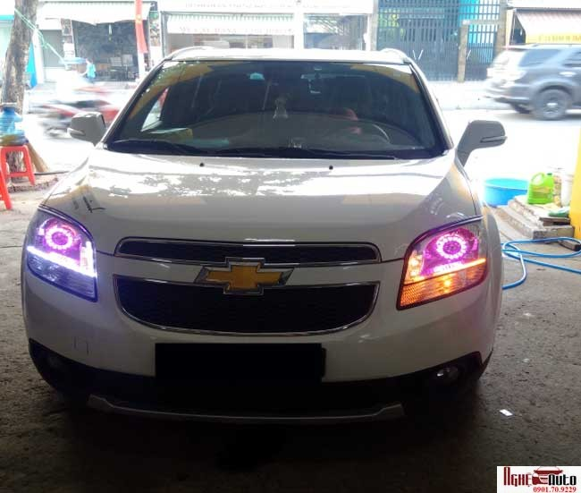 N Bi Xenon Cho Xe Chevrolet Orlando Ngh Auto