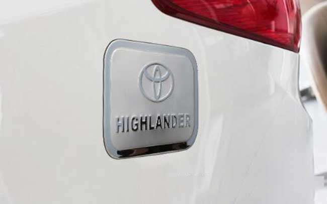Ốp trang trí nắp xăng HighLander